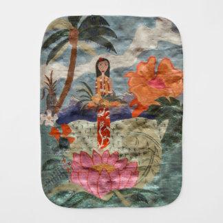 Hawaii Burp Cloth