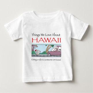Hawaii by Harrop-T-a Baby T-Shirt