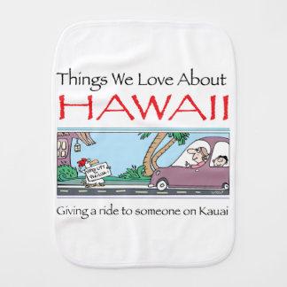 Hawaii by Harrop-T-a Burp Cloth