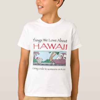Hawaii by Harrop-T-a T-Shirt