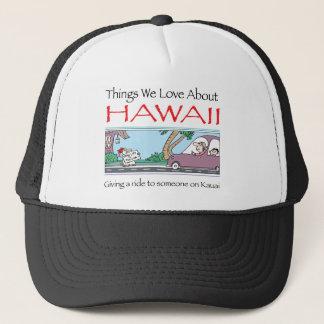 Hawaii by Harrop-T-a Trucker Hat