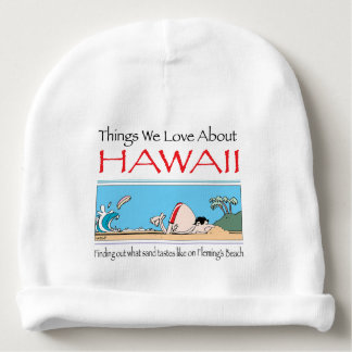 Hawaii by Harrop-T-b Baby Beanie
