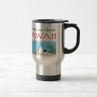 Hawaii by Harrop-T-b Travel Mug