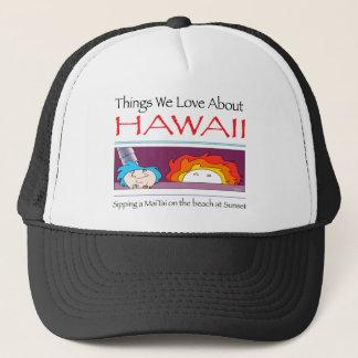 Hawaii by Harrop-T-c Trucker Hat