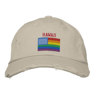 Hawaii Celebrates Equality Baseball Cap
