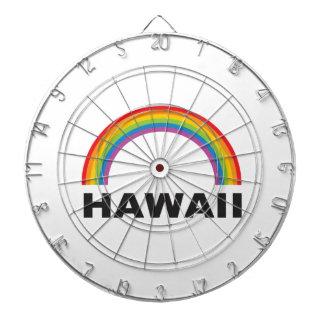 hawaii color arch dartboard