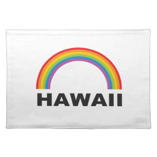 hawaii color arch placemat