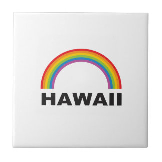 hawaii color arch tile