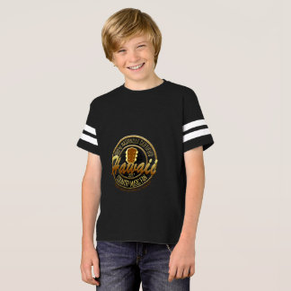 Hawaii Country Music Fan Boy's Football Jersey T-Shirt