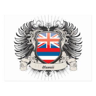 Hawaii Crest Postcard