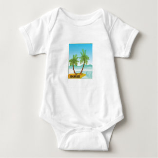 Hawaii cruise baby bodysuit