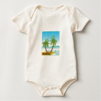 Hawaii cruise baby bodysuit