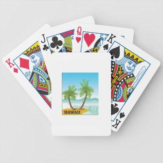 Hawaii cruise bicycle playing cards