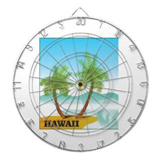 Hawaii cruise dartboard