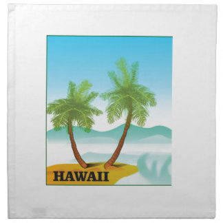 Hawaii cruise napkin
