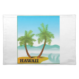 Hawaii cruise placemat