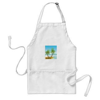 Hawaii cruise standard apron