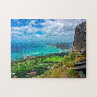 Hawaii Diamond Head. Jigsaw Puzzle