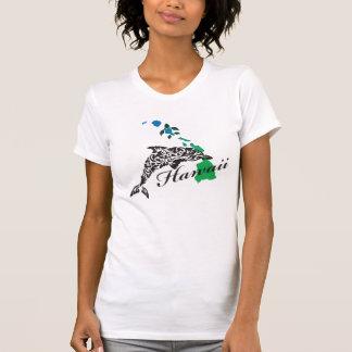 Hawaii Dolphin and Hawaii Islands 405 T-Shirt
