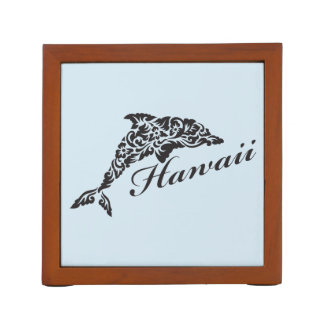 Hawaii Dolphin Desk Organizer