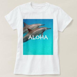 Hawaii Dolphins and Aloha 102 T-Shirt
