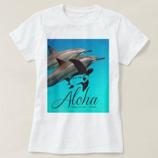 Hawaii Dolphins and Aloha 104 T-Shirt