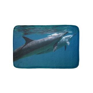 Hawaii Dolphins and Aloha Bath Mat