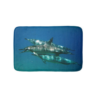 Hawaii Dolphins and me Bath Mat