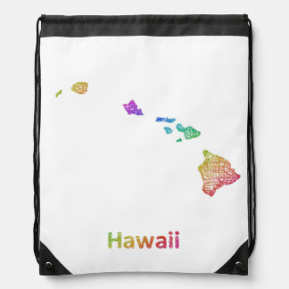 Hawaii Drawstring Bag