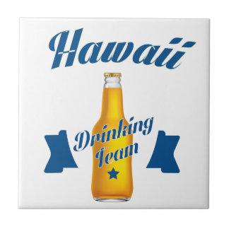 Hawaii Drinking team Tile