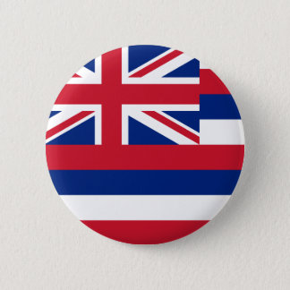 Hawaii Flag 2 Inch Round Button