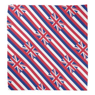 Hawaii flag bandana