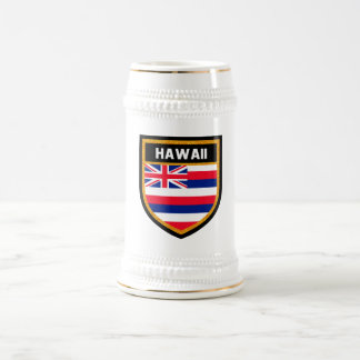 Hawaii Flag Beer Stein