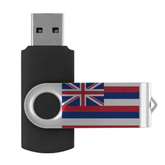 Hawaii Flag USB Flash Drive