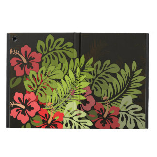 Hawaii Floral Earthy Graphic Design Art Flowers iPad Air Case