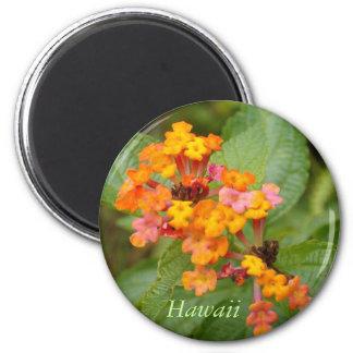 Hawaii Flower 2 Inch Round Magnet
