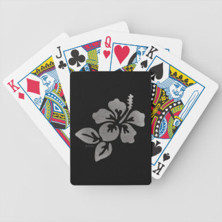 Hawaii Flower Bicycle Playing Cards