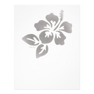 Hawaii Flower Letterhead