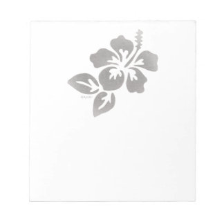 Hawaii Flower Notepad