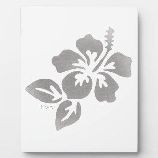 Hawaii Flower Plaque