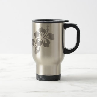 Hawaii Flower Travel Mug