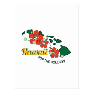 Hawaii For The Holidays Post Cards