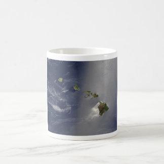 Hawaii from Space Coffee Mug