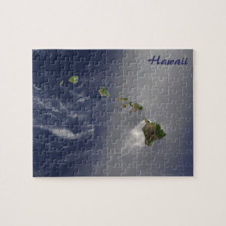 Hawaii from Space Jigsaw Puzzle