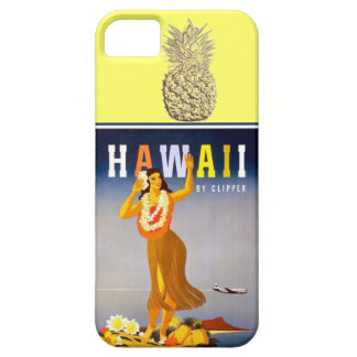 Hawaii Gold Pineapple  Hula Dancer iPhone 5 Covers