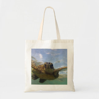 Hawaii Green Sea Turtle Tote Bag
