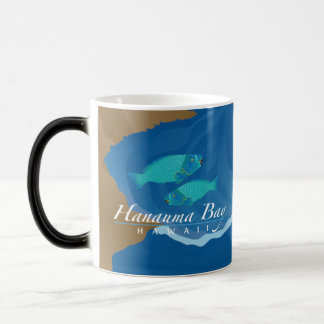 Hawaii Hanauma Bay Parrot Fish Magic Mug