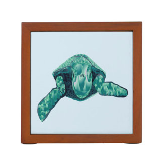 Hawaii Hanauma Bay Turtle Desk Organizer