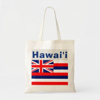 Hawaii Hawaiian Flag Tote Bag