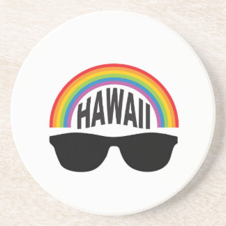 hawaii head art coaster